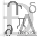 dejavufonts icon
