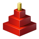Icon for package red